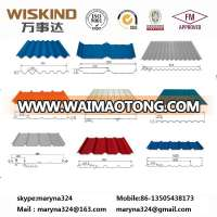 color coated corrugated metal galvanized steel roofing sheet