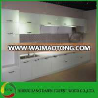 High Gloss White Kitchen Cabinet Unit Base Wall Cupboards Doors