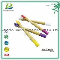 Wholesale Biodegrable Children Child Kids Bamboo Tooth Brushes with OEM Package